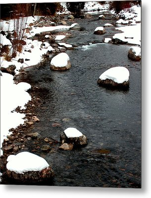 Snowy River Metal Print by The Forests Edge Photography - Diane Sandoval