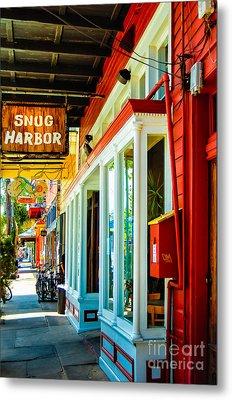 Snug Harbor Jazz Bistro- Nola Metal Print