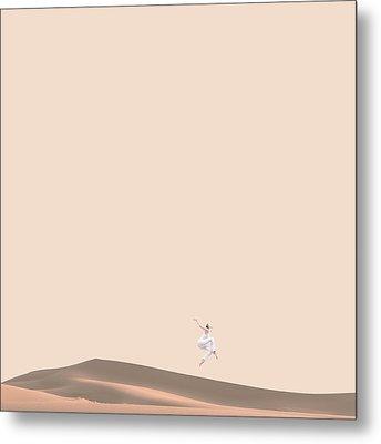 So Sand Metal Print by Caterina Theoharidou