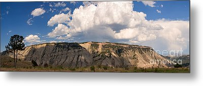 Metal Print featuring the photograph Soaring Above Mount Everts by Charles Kozierok