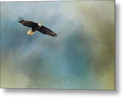 Metal Print featuring the photograph Soaring by Rebecca Cozart