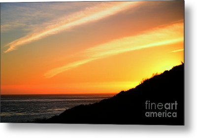 Metal Print featuring the photograph Socal Sunet by Clayton Bruster