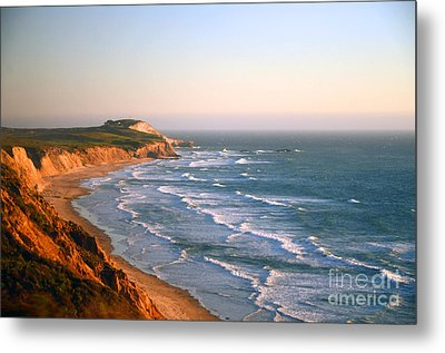 Metal Print featuring the photograph Socal Sunset Ocean Front by Clayton Bruster