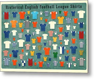 Soccer Shirts Metal Print