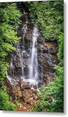 Metal Print featuring the photograph Socco Falls by Stephen Stookey