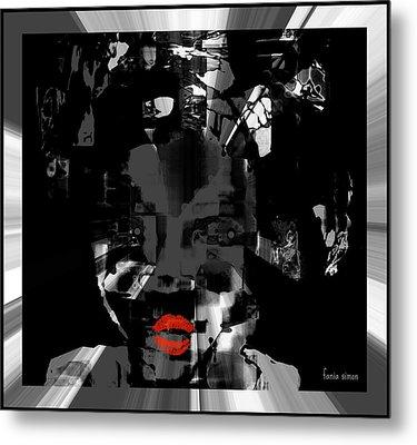 Sofi Metal Print by Fania Simon