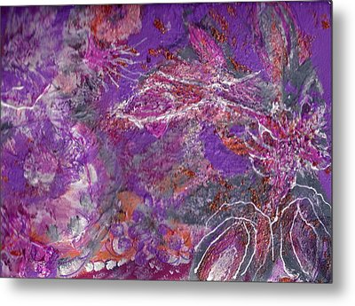 Soft And Dreamy Thoughts Of You Metal Print by Anne-Elizabeth Whiteway