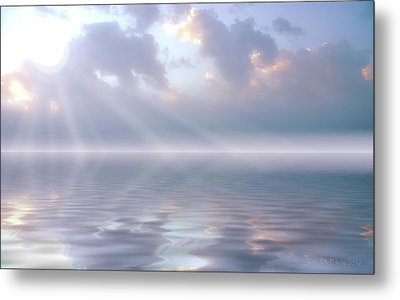 Soft And Sublime Metal Print by Jerry McElroy