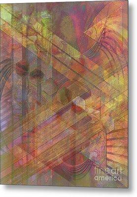 Soft Fantasia Metal Print by John Beck
