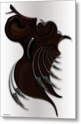Soft Metamorphosis Metal Print
