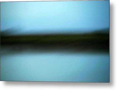 Soft Reflections Metal Print by Marilyn Hunt