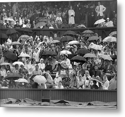 Soggy Supporters Metal Print