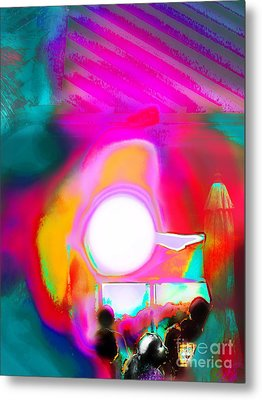Sol Voyers Metal Print