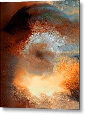 Solar Eruption Metal Print by Linda Sannuti