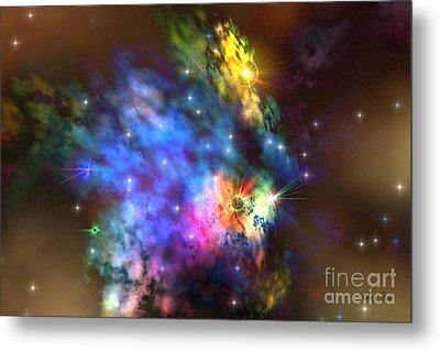 Solaris Nebula Metal Print by Corey Ford