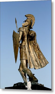 Soldier Of Fountain Metal Print
