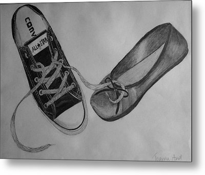 Sole Mates Metal Print by Joanna Aud