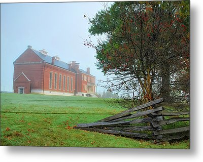 Metal Print featuring the photograph Solemn Morning - Fort Smith National Historic Site  by Gregory Ballos