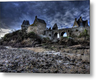 Solidor At Dusk Before A Storm Metal Print by Karo Evans