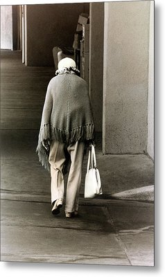 Solitary Lady Metal Print by Don Gradner