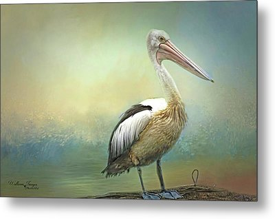 Solitary Metal Print by Wallaroo Images