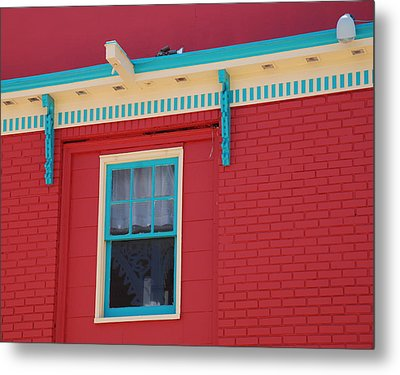 Metal Print featuring the photograph Solitary Window by Richard Bryce and Family