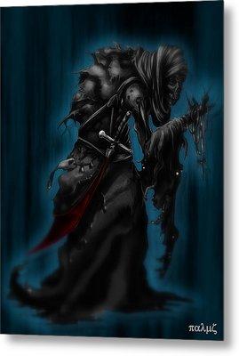 Solitiary Reaper Metal Print by Rahul Chakraborty