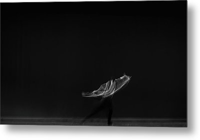 Solo Dancer  Metal Print by Catherine Lau