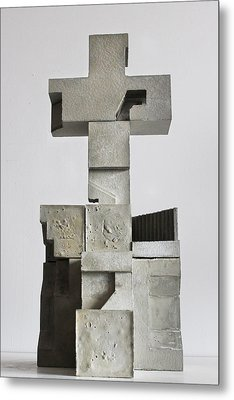 Soma Structure 1 Metal Print by David Umemoto