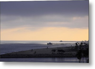 Some Cream After Sunset Metal Print