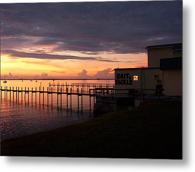 Some Golden Daybreak Metal Print by Joyce Kimble Smith