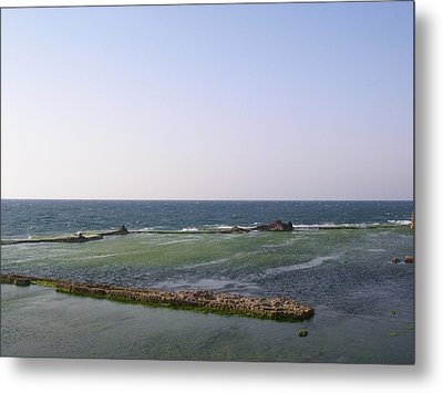 Some Ruins In The Old City Of Akko Metal Print by Susan Heller