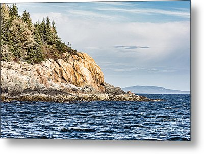 Metal Print featuring the photograph Somes Sound by Anthony Baatz