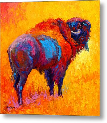 Something In The Air Metal Print by Marion Rose