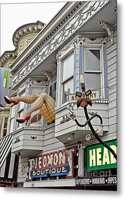 Something To Find Only The In The Haight Ashbury Metal Print