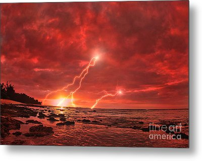 Something Wicked Metal Print