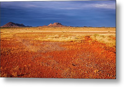 Somewhere In The Outback, Central Australia Metal Print