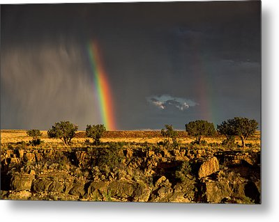 Metal Print featuring the photograph Somewhere by James Menzies