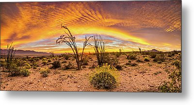 Metal Print featuring the photograph Somewhere Over by Peter Tellone