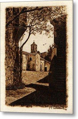 Somewhere'n Toscana Metal Print by Dino Muradian