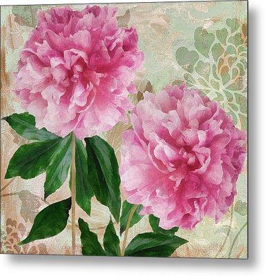 Sonata Pink Peony I Metal Print