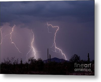Sonoran Storm Metal Print by James BO  Insogna