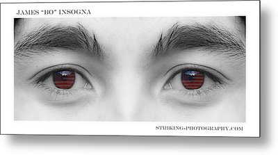 Son's Eyes Metal Print by James BO  Insogna