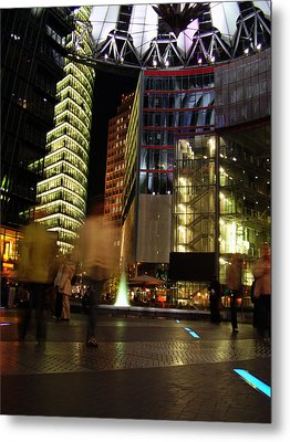 Sony Center Metal Print by Flavia Westerwelle