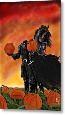 Soon It Will Be All Hallows' Eve Metal Print