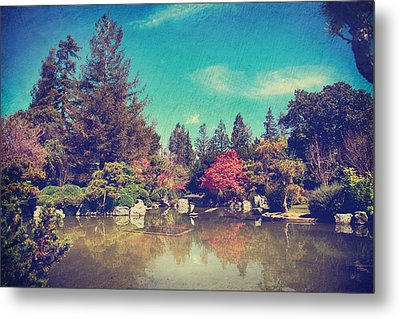 Soothes The Soul Metal Print by Laurie Search