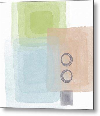 Soothing Harmony 2- Art By Linda Woods Metal Print