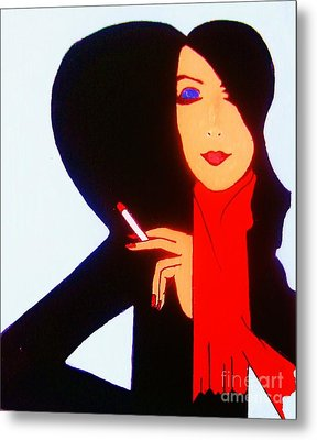 Sophistication Metal Print by Roberto Prusso