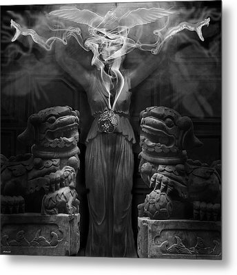 Sorceress Metal Print by Larry Butterworth