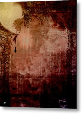 Sorrow Metal Print by Linda Sannuti